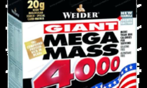 Weider Mega Mass 4000 – Skvelý gainer (recenzia)