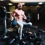 činky jednoručky fitness