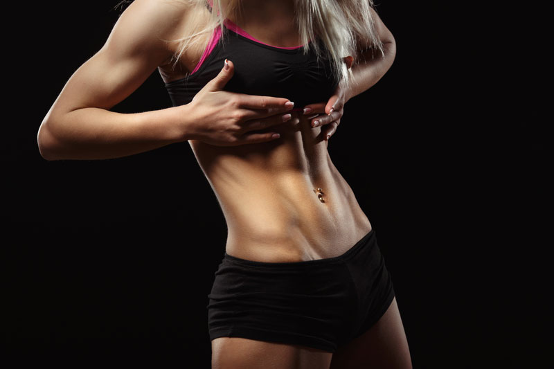 cviky na spodné brucho