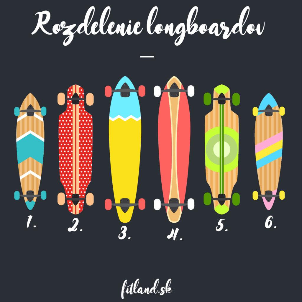 ako vybrať longboard - druhy a typy longboardov