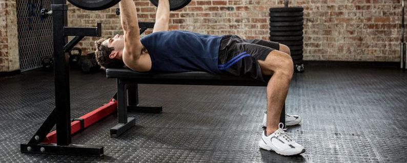 lavička na cvičenie posilňovacie lavice
