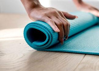 podložka na cvičenie a jógu