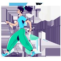 nordic walking technika chodenia