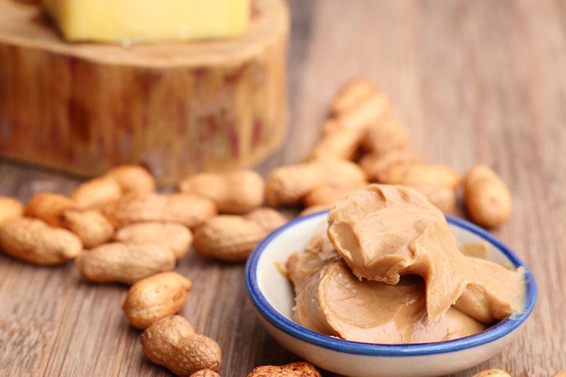 domáce arašidové maslo