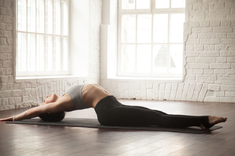 joga cviky na chrbát