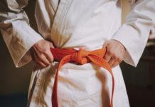 kimono na karate a judo