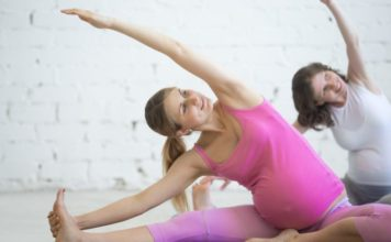cviky pre tehotne joga