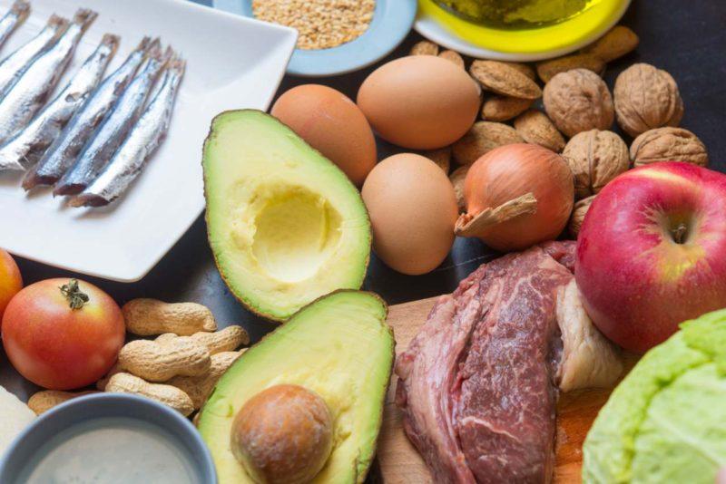 avokado vajcia maso lowcarb