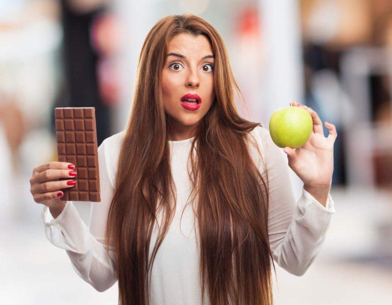 cokolada chudnutie