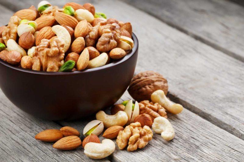 orechy zdrave tuky
