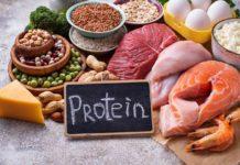 bielkoviny maso vajicka strukoviny