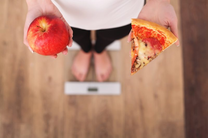 iifym jablko pizza chudnutie