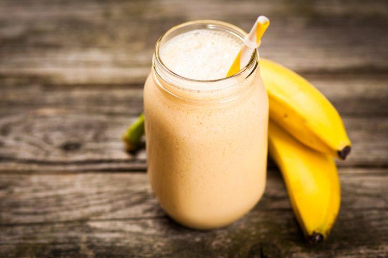 smoothie objemovka banan protein ako nabrať svaly