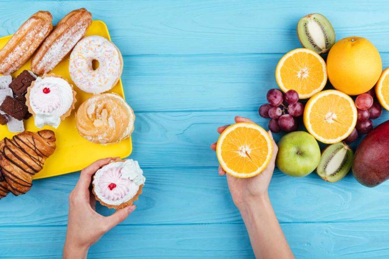 zdrave a nezdrave potraviny