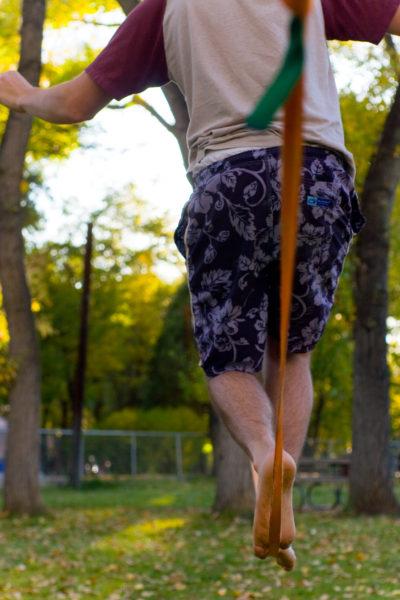 slackline lano