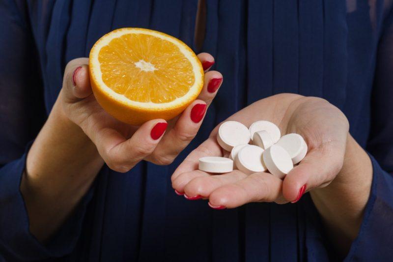 vitamin C potraviny doplnky