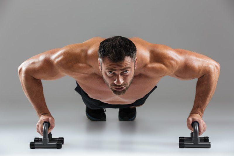 cvicenie na doma trening rast svalov