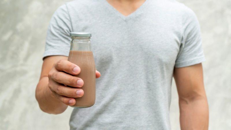 gainer milkshake smoothie rast svalov