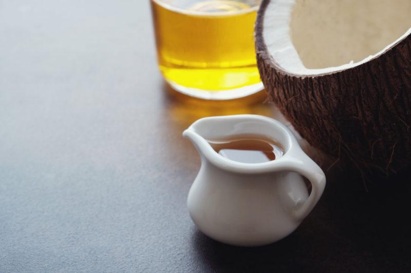 mct olej kokosový olej