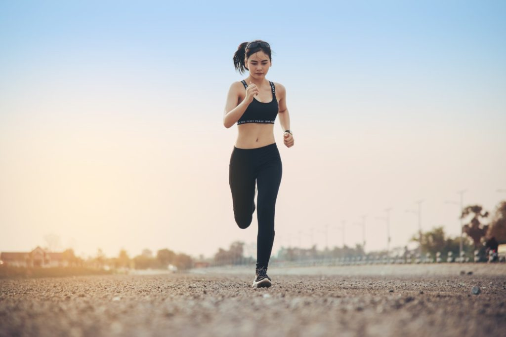 žena bež íkofeínové tabletky vytrvalosť