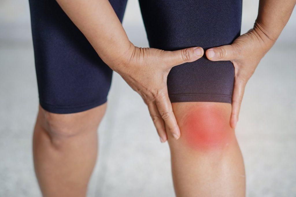zápal bolesť kolena artróza
