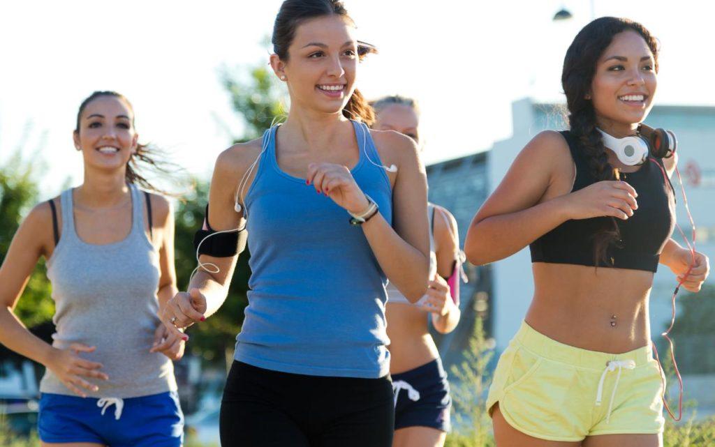 ženy bežia beh jogging