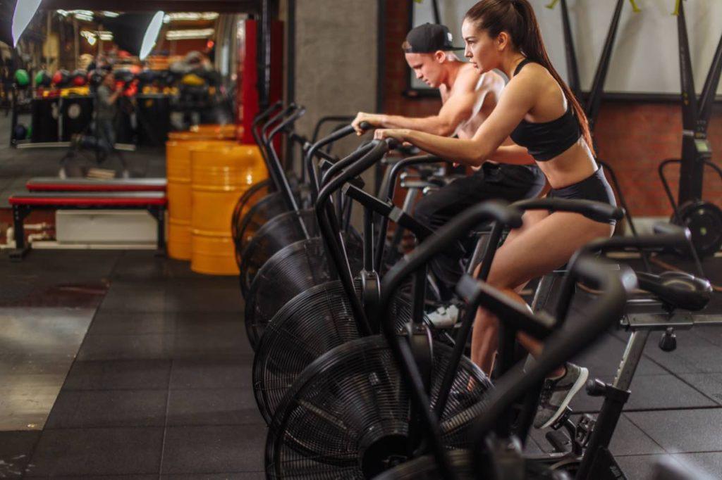 cvičenie na airbike