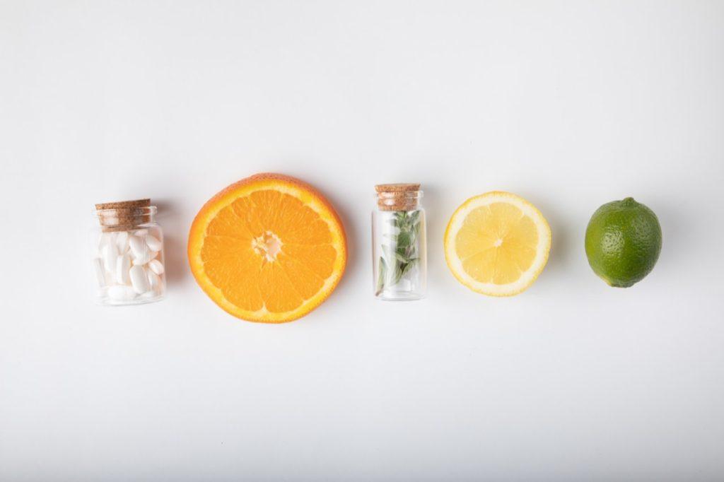 vitamíny a ovocie