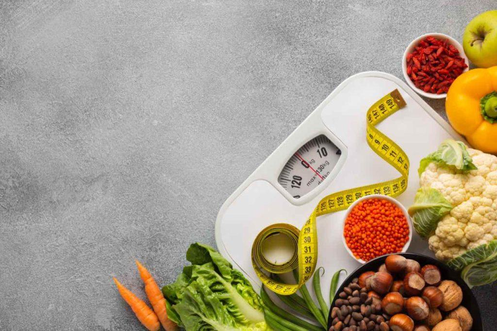 váha, meter a zelenina