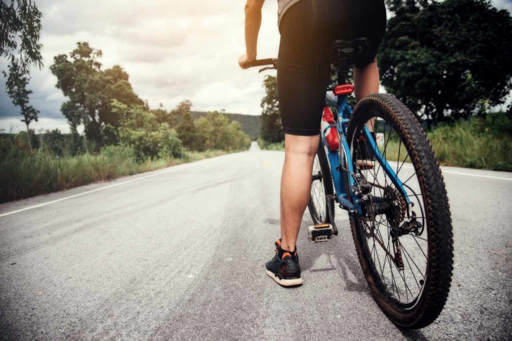 zadné koleso bicykla
