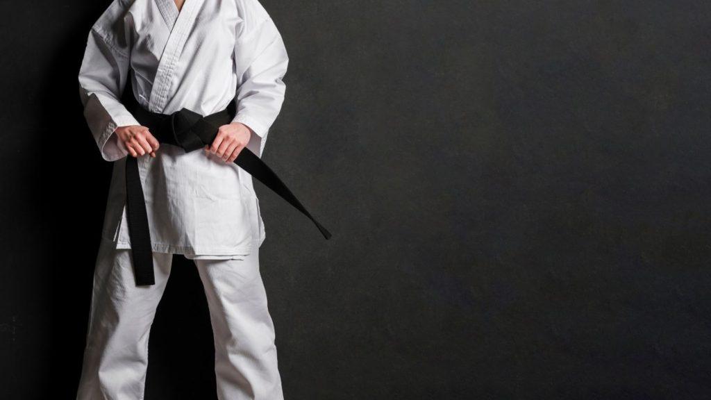 čierny opasok kung-fu