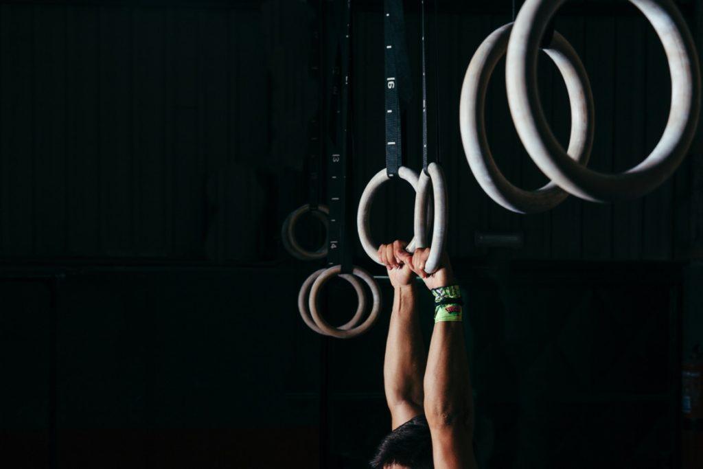 gymnastické kruhy