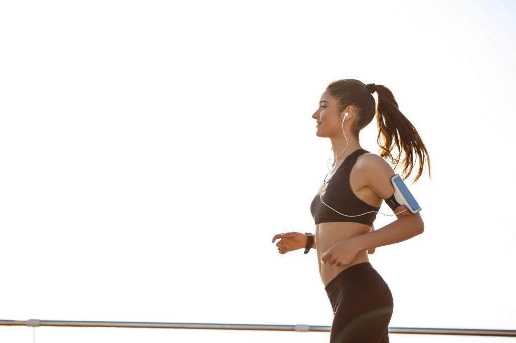 žena, ktorá behá