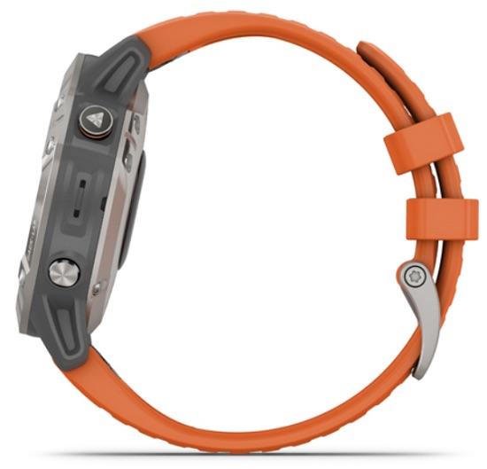 hodinky Garmin Fenix 6 oranžové