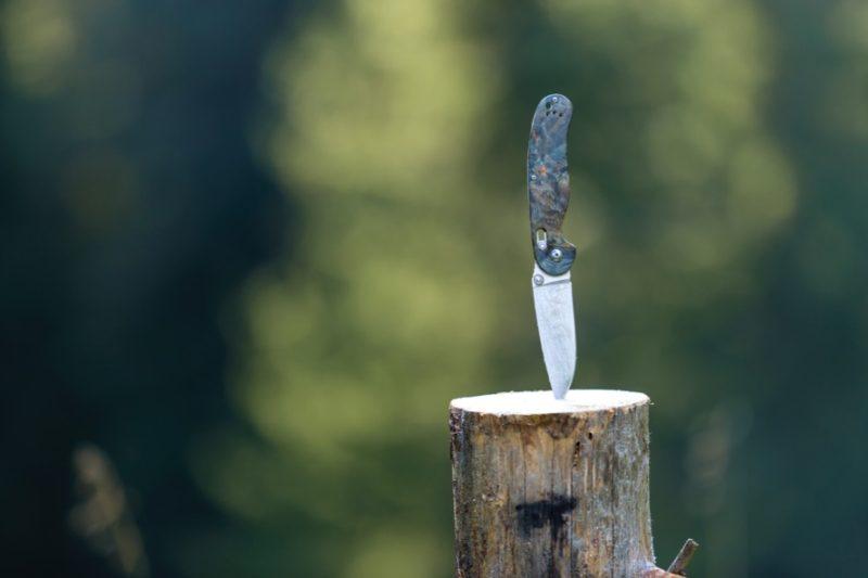 nôž na dreve