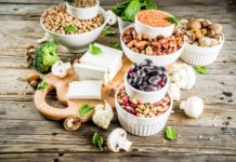 vegan rastlinný proteín zdroje svaly