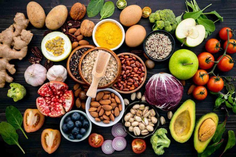 zdrava strava potraviny zdroj inozitol