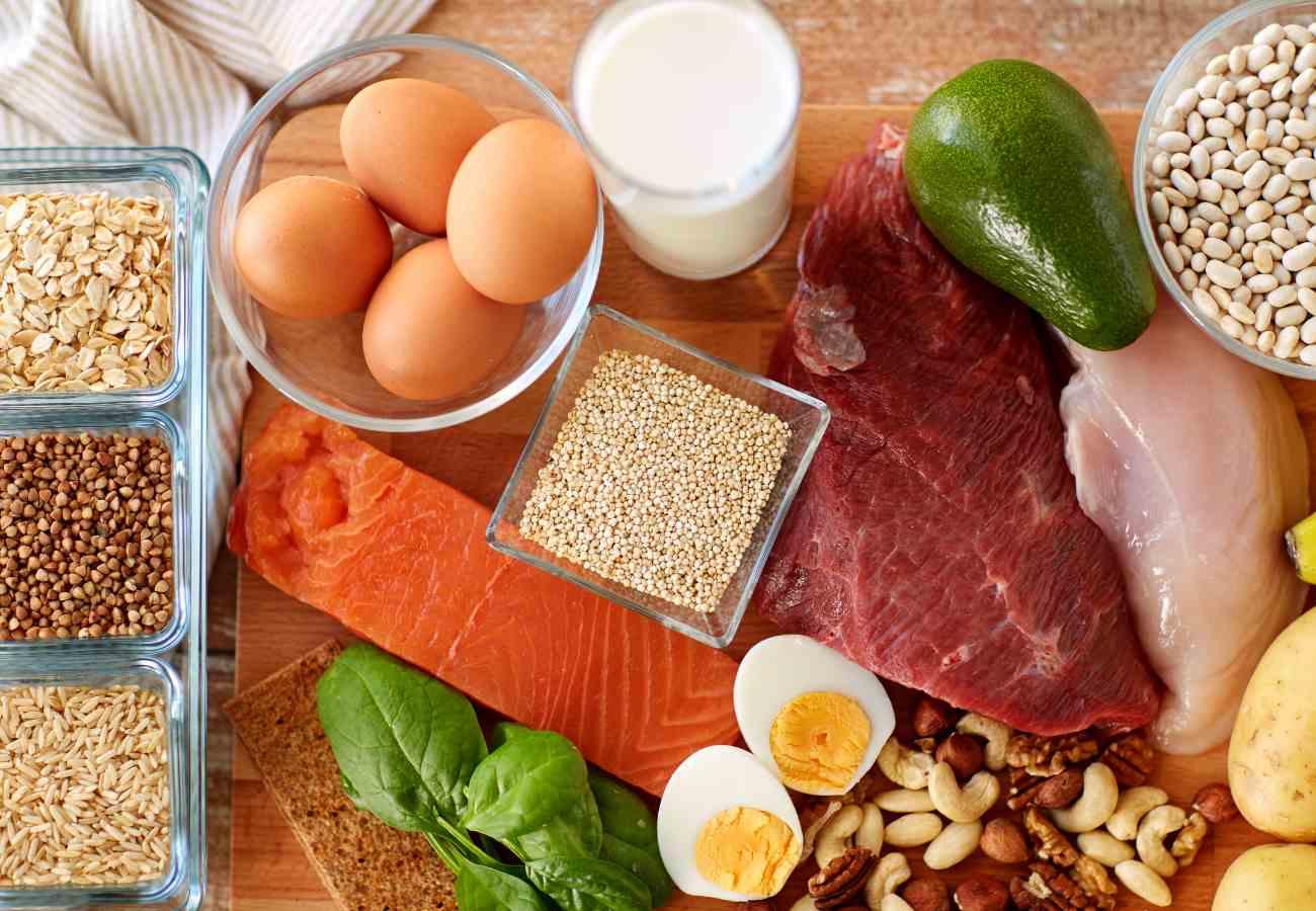 Čo obsahuje bielkoviny - mäso, vajcia, strukoviny
