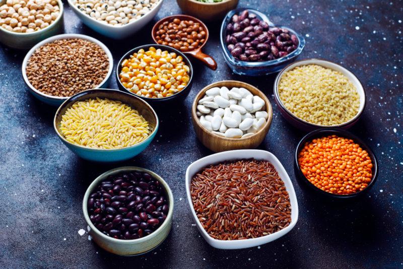 Čo obsahuje bielkoviny - strukoviny a semená