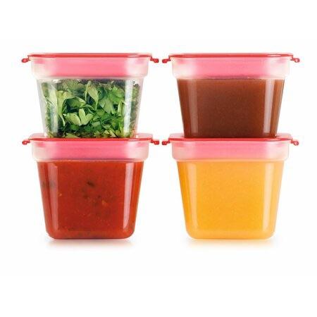 farebné krabičky na jedlo