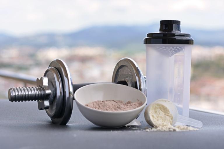 proteín a činka
