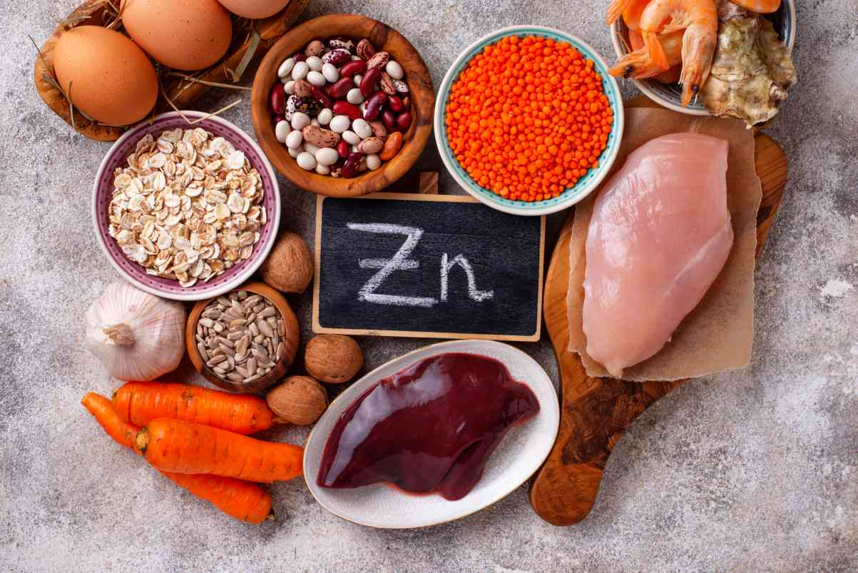Zinok a jeho výskyt v potravinách