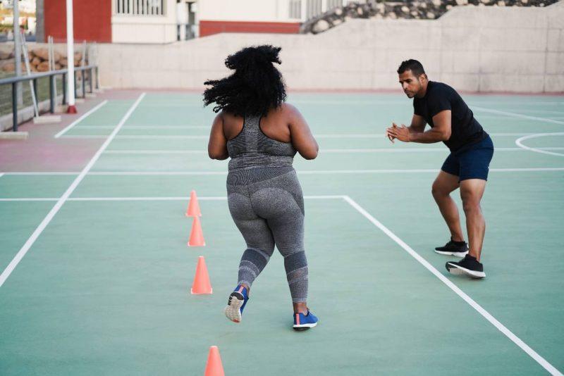 cvičenie s nadváhou obezita
