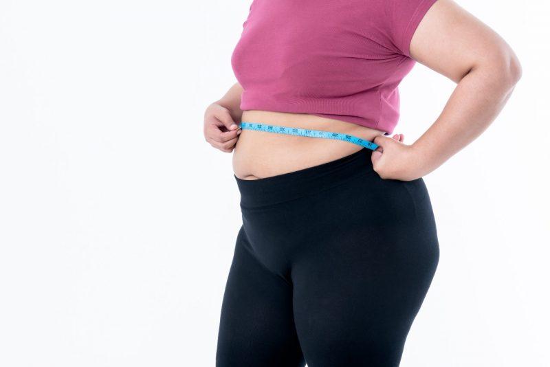 obezita a pohyb meranie cvicenie obvod pasa